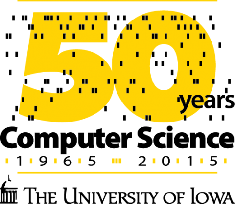 UI Computer Science Dept 50th Anniversary logo